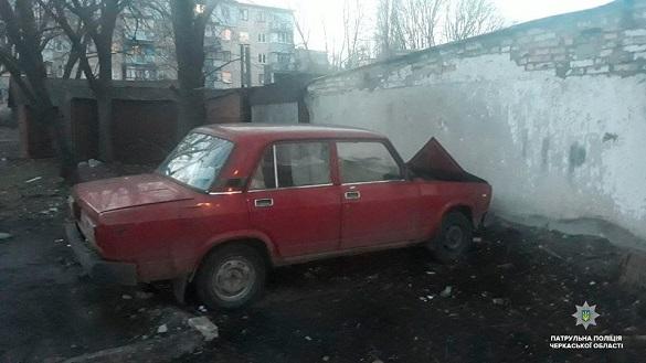 У Черкасах знайшли викрадену автівку