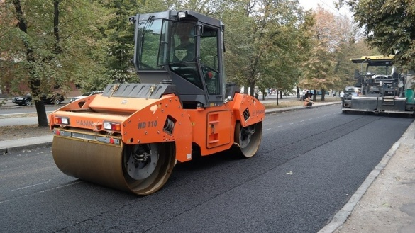 Савін розповів, коли планують завершити ремонт бульвару Шевченка