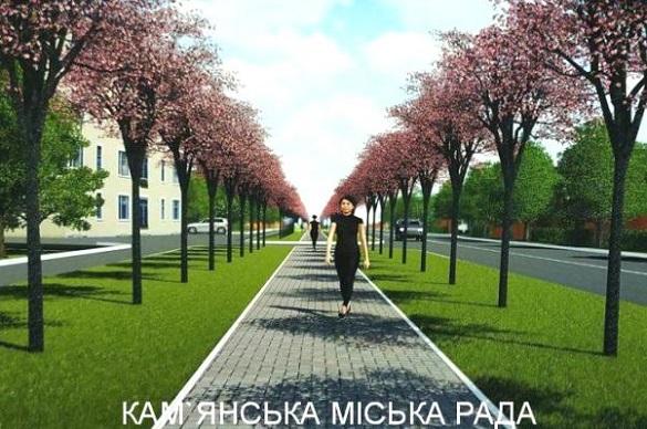 На Черкащині висадили найбільшу в Україні алею сакур (ФОТО)