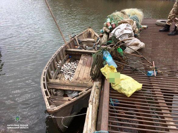 На Черкащині браконьєри наловили риби на майже 50 тисяч гривень (ФОТО)