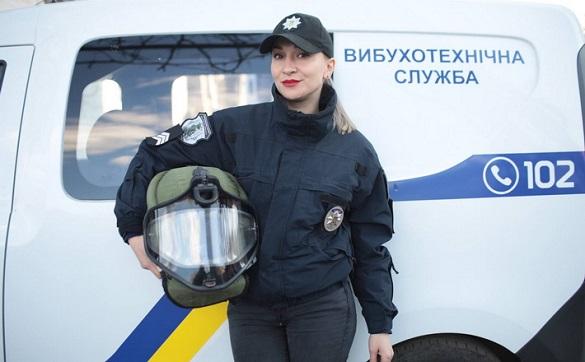 Єдина жінка-вибухотехнік працює на Черкащині