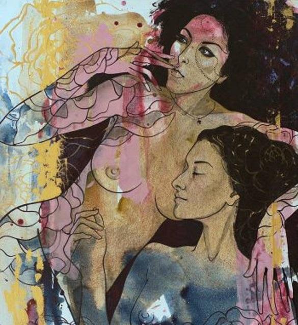 Серію еротичних картин черкаської художниці покажуть у Нью-Йорку