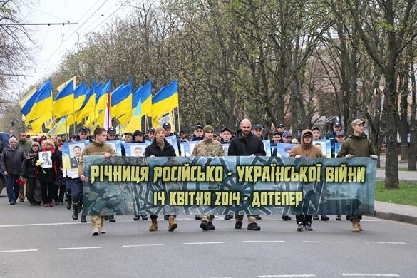 Черкащани вшанували пам'ять загиблих захисників України (ФОТО)
