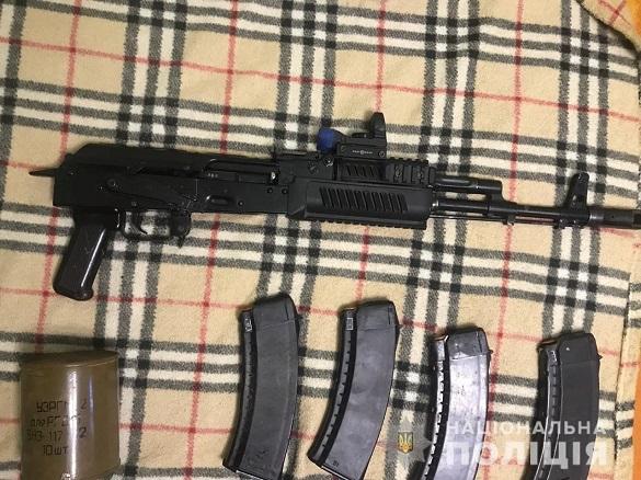 У жителя Черкас вилучили автомат Калашникова та боєприпаси (ФОТО)
