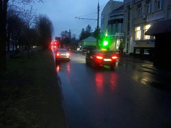 На пішохідному переході у Черкасах збили людину (ФОТО)