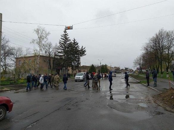 На Чорнобаївщині люди страйкують через поганий стан доріг