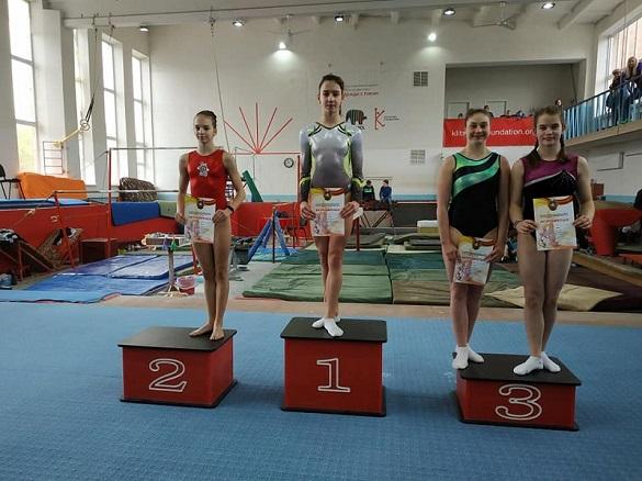 У Черкасах відбувся чемпіонат зі спортивної гімнастики