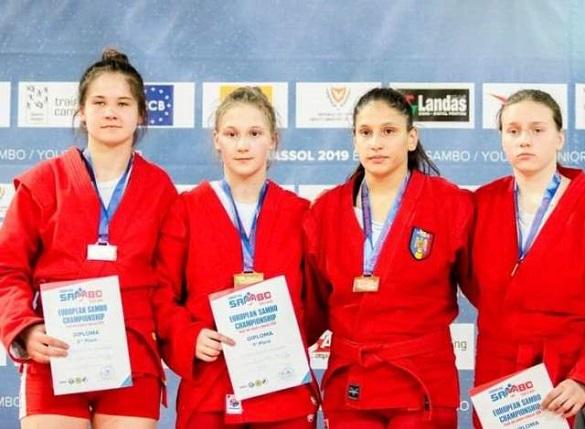 Самбістка з Черкащини стала віце-чемпіонкою Європи