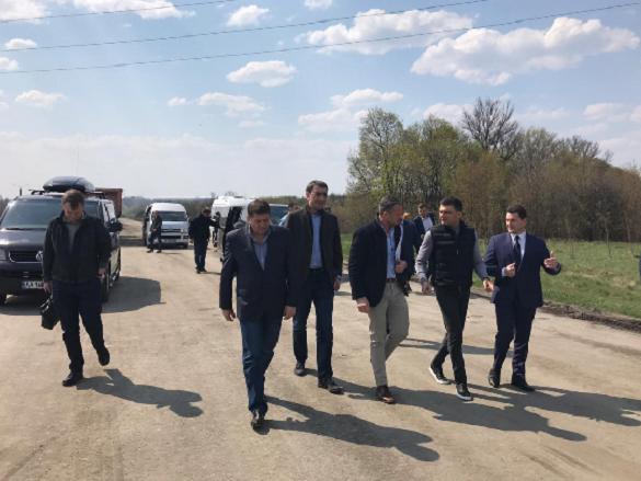 Володимир Гройсман проінспектував дороги Черкащини (ВІДЕО)
