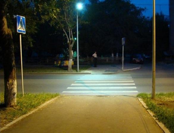 Заради безпеки: де в Черкасах підсвітять пішохідні переходи