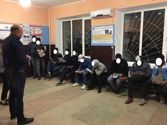 На Черкащині затримали студентів-нелегалів з Туркменістану