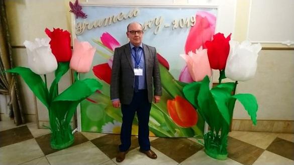 Учитель із Черкащини увійшов до десятки кращих педагогів України