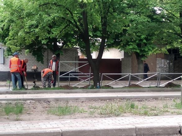 У мерії порівняли нову огорожу на бульварі Шевченка із парканом у Парижі