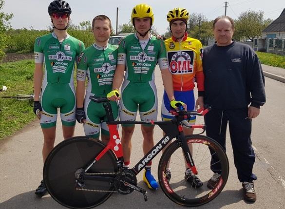 Велоспортсмен з Черкас виборов путівку на Європейські ігри