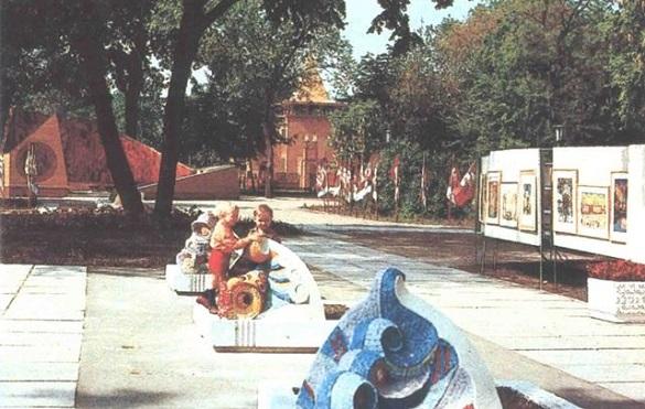 Черкасцям розповіли цікаві факти про головний дитячий парк міста