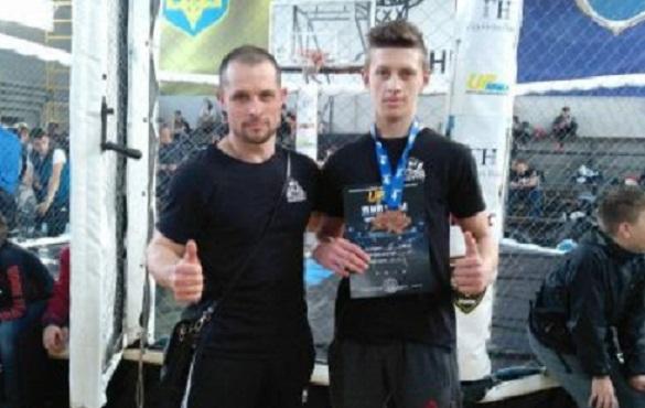 Черкаський спортсмен став призером чемпіонату України з ММА (ФОТО)