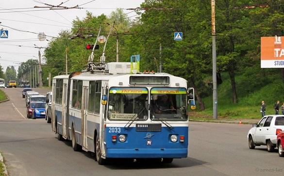Один із черкаських тролейбусів сьогодні не курсуватиме містом