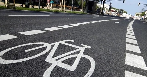Жителі Черкас просять створити велодоріжки