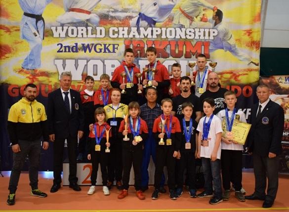 Черкаські каратисти вибороли 25 медалей на кубку світу