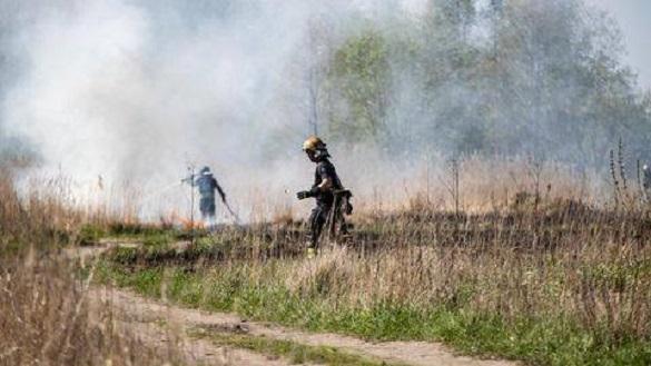 В одному з районів Черкас сталася пожежа