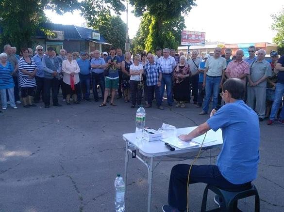Через обурення жителів відділення лікарні у Ватутіному поки не закриють