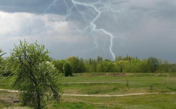 Завтра на Черкащині очікуються грози
