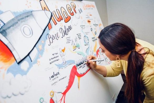 Ідеї з-під маркера: навіщо черкащанка малює думки на папері