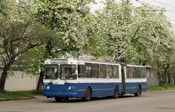 Cьогодні деякі тролейбуси у Черкасах змінять рух