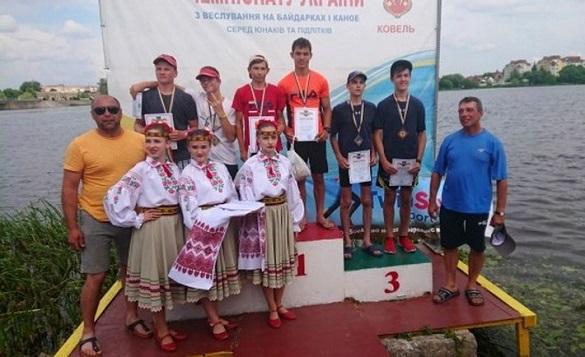 Юні черкащани вибороли нагороди на всеукраїнському чемпіонаті з веслування