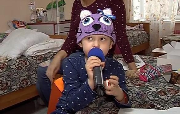 Маленька черкащанка просить допомогти їй здолати тяжку хворобу