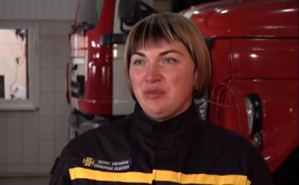 Єдина в Україні жінка-рятувальниця здолала десятки пожеж на Черкащині (ВІДЕО)