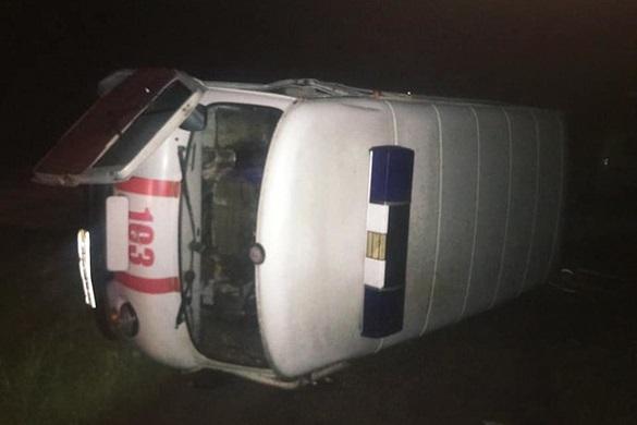 На Черкащині автоцистерна врізалася у швидку: четверо постраждалих (ФОТО)