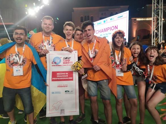 Черкащани серед переможців з робототехніки на світових змаганнях