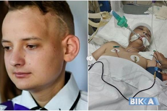 Після нещасного випадку юний черкащанин впав у кому: потрібна допомога небайдужих
