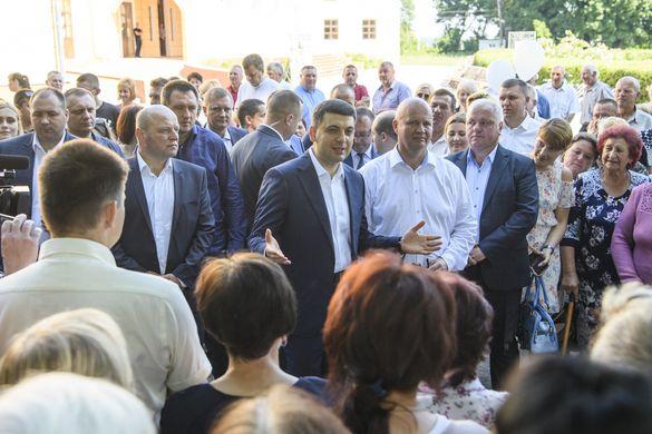 """""""Українська стратегія Гройсмана"""" робить ставку на середній клас -  людей праці, які вже зараз формують добробут держави"""