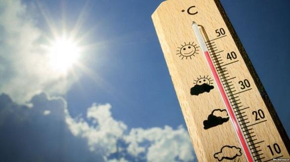 Земля Черкащини прогрілася до рекордних 61,2 °