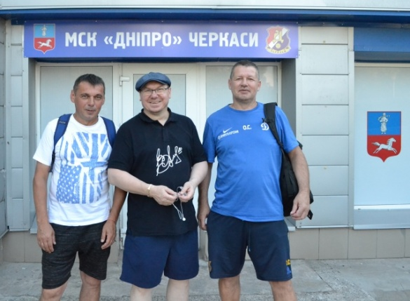Легенди футболу відвідали офіс МСК