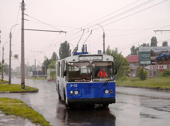 Деякі черкаські тролейбуси їздитимуть за зміненим маршрутом до 5 липня