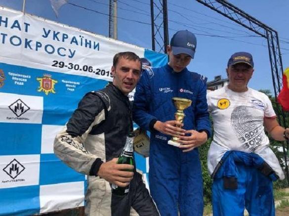 Черкащанин виборов нагороди на чемпіонаті України з тренкових перегонів та автокросу