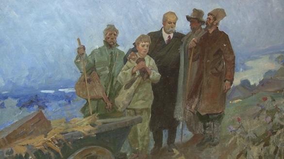 Полотно невідомого автора подарував колекціонер черкаському музею
