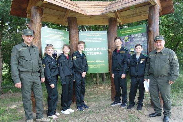 На Черкащині школярі мандрували екологічною стежкою (ФОТО)