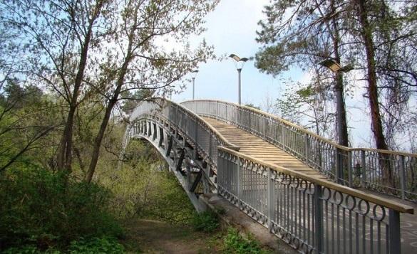 Реконструкція черкаського Мосту кохання знаходиться на завершальному етапі