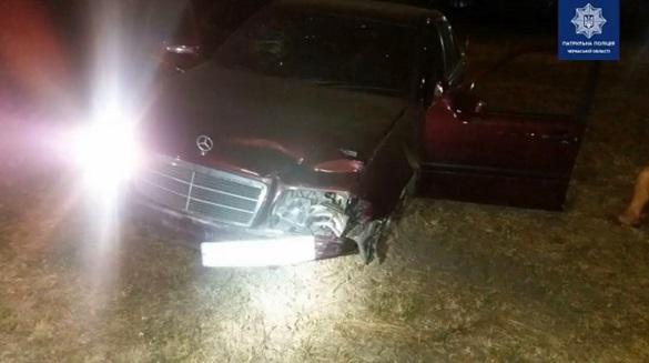 У Черкасах п'яний водій влаштував