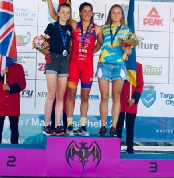 Черкащанка посіла призове місце на чемпіонаті Європи з дуатлону
