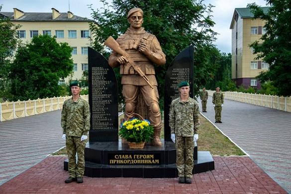 В Оршанці вшанували пам'ять героїв-прикордонників (ФОТО)