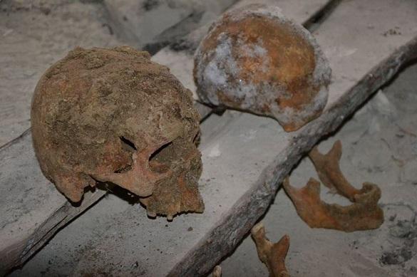 На Черкащині під час будівництва церкви виявили людські кістки