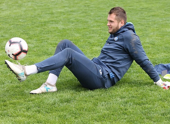 Черкаський футболіст дебютував у Лізі Європи