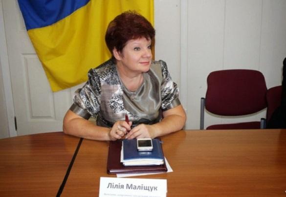 Черкаська чиновниця Маліщук, яку звільняли