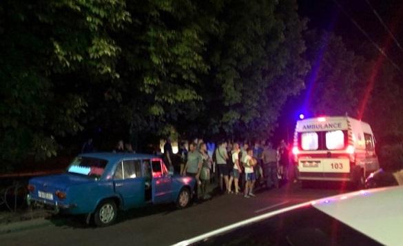 На перехресті у Черкасах збили чоловіка (ФОТО)