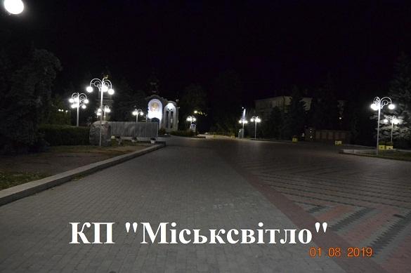 Ще одна вулиця у Черкасах засяяла по-новому